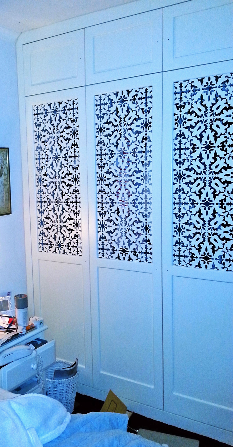Jali made-to-measure fretwork panels