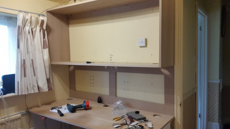A Jali customer DIY shelving project