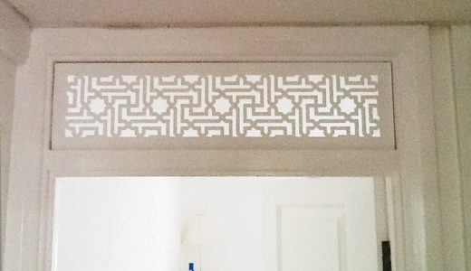 See fretwork in a whole new light!