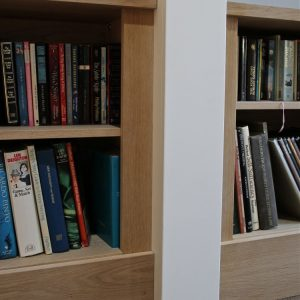 Bookcases in real wood veneers are here!