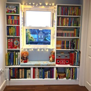 Children's bedroom storage with a real touch of magic!