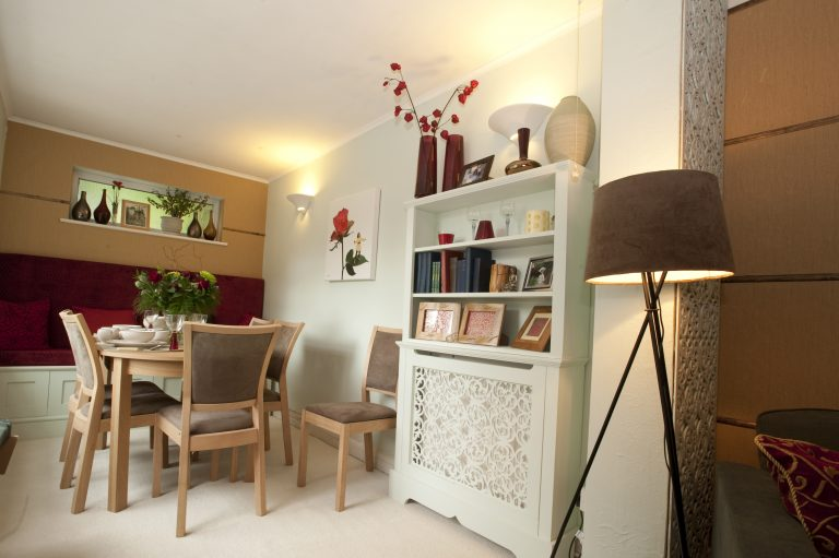 60 Minute Makeover - dining room