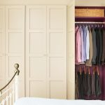 Wardrobe with Painted Interior and Hanging Rail
