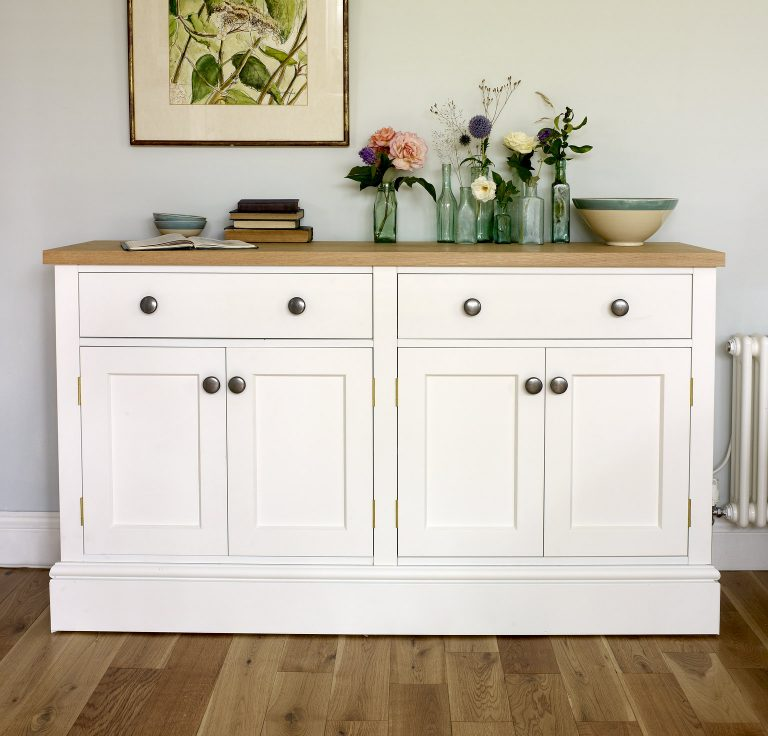 Classic cupboard with drawers