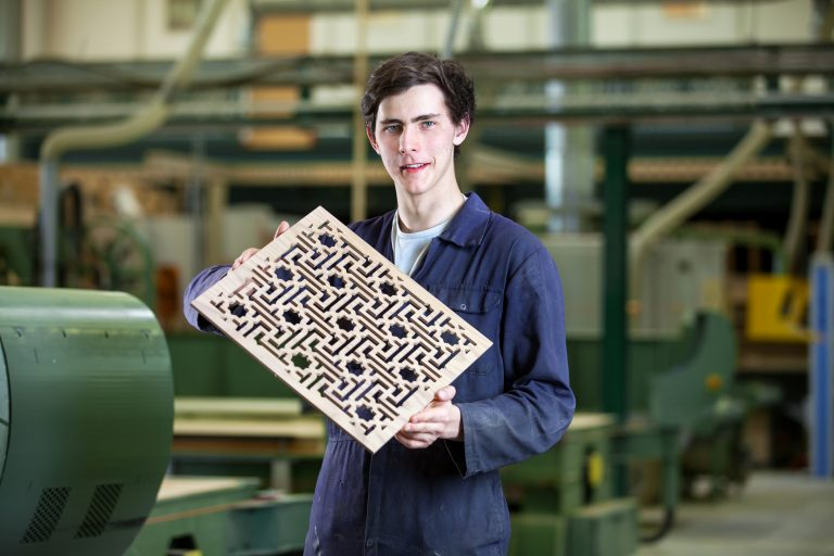 Fretwork in the workshop