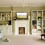 Living room dresser and bookcase