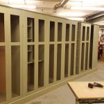 Long run of classic wardrobes assembled in the Jali workshop
