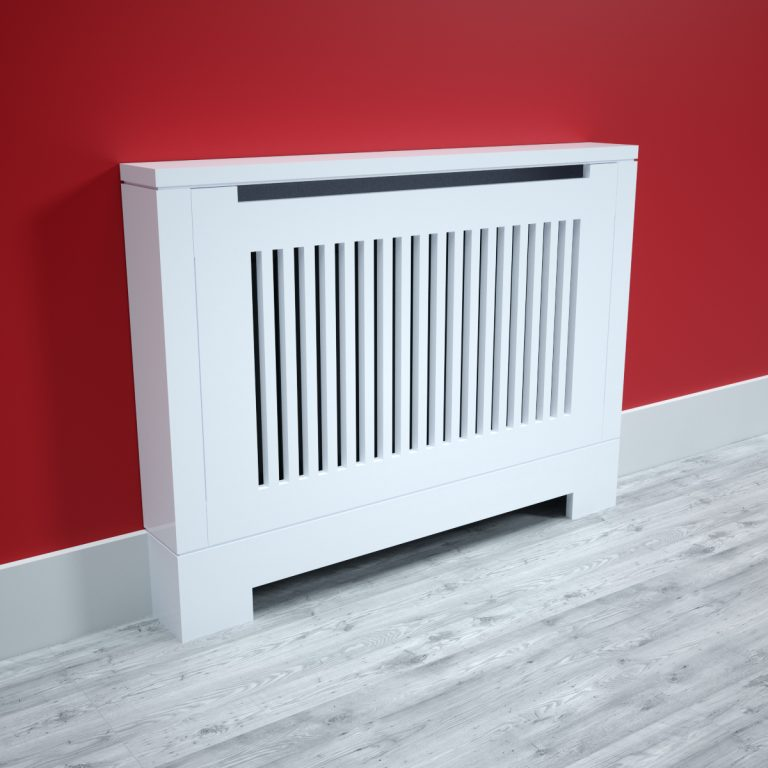 Modern Radiator Cabinet with Flat Top