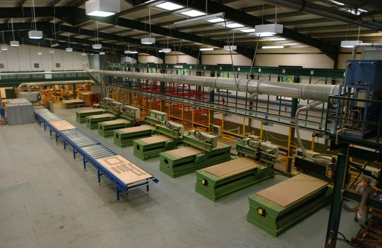CNC machines in the Jali Factory