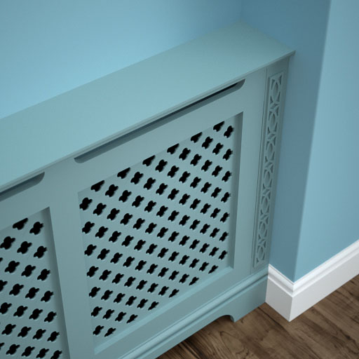 Radiator Cabinet close-up view